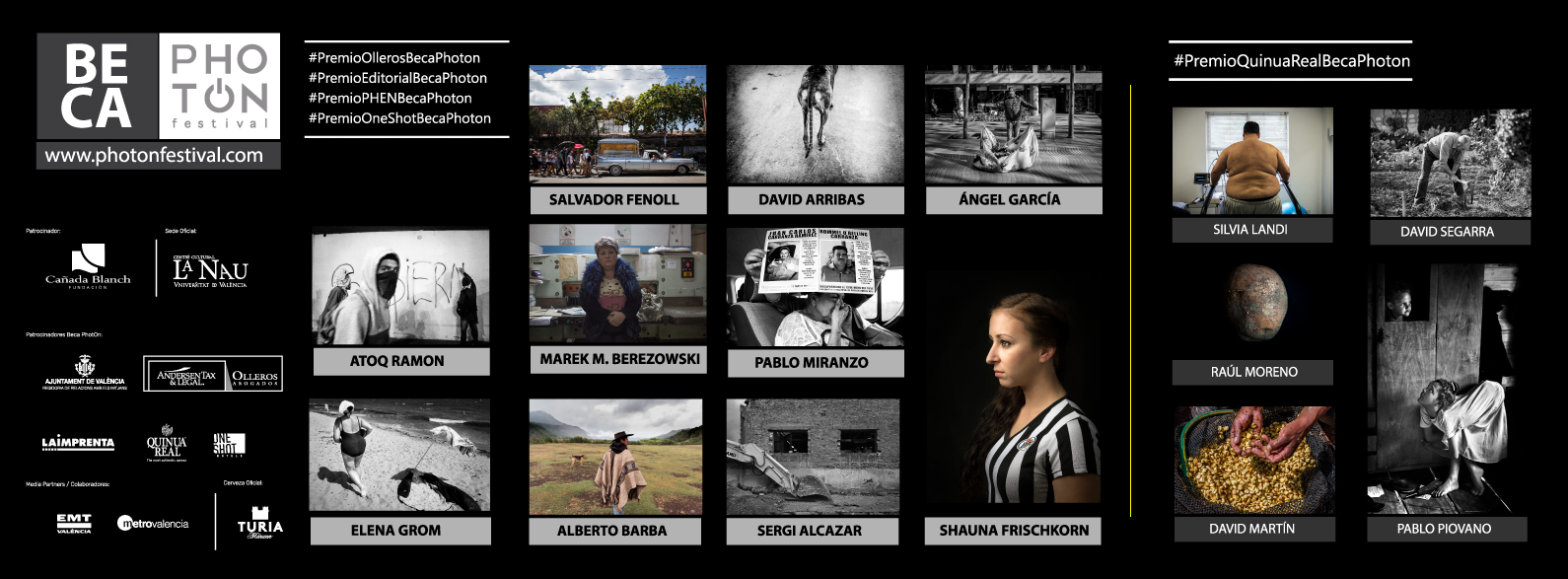 FINALISTAS BECA PHOTON 2017