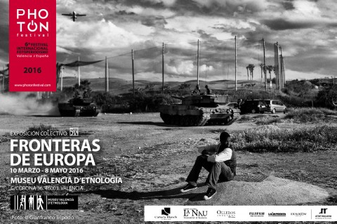 Borders of Europe. Colectivo 5W. La Beneficència.10 march – 8 may 2016