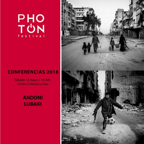 Andoni Lubaki – Conferencias PhotOn 2018
