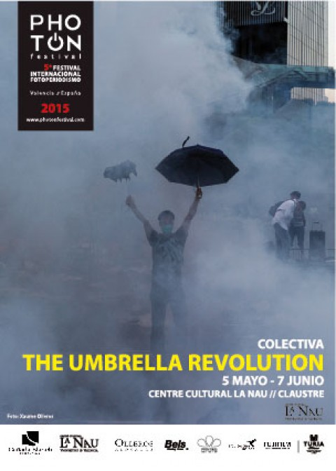 The Umbrella Revolution – Colectiva. Claustre.Centre Cultural LaNau. 5 mayo – 7 junio 2015